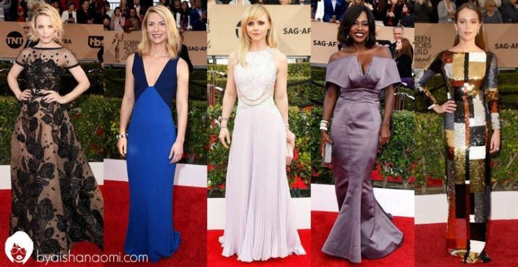 Best Dressed SAG Awards '16