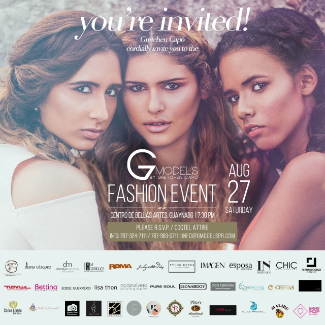 G Models Fashion Event 2016